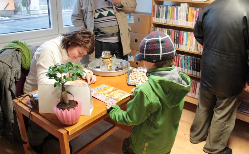 Slavnostní otevření místní knihovny