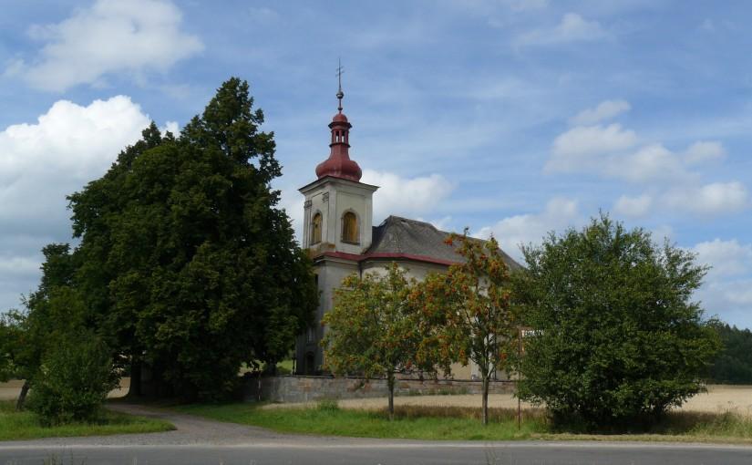 Vidonice, kostel sv. Jana Křtitele - By Prasopestilence (Own work) [CC BY-SA 3.0 (http://creativecommons.org/licenses/by-sa/3.0)], via Wikimedia Commons